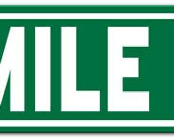 Detroit 8 Mile Road Metal Street Sign 6x24