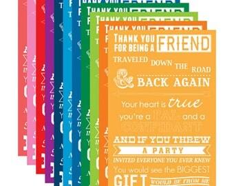 Printable Golden Girls Lyrics Digital Poster