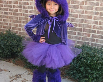 Purple People Eater Monster Costume