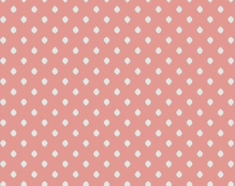 3/4 Yard REMNANT Drift - Island Droplets in Peach - Cotton Quilt Fabric - from Angela Walters for Art Gallery Fabrics (W1697)