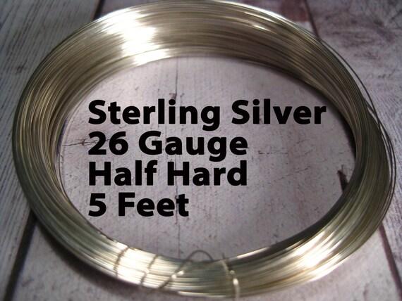 15% Off SALE!! Sterling Silver Wire, 26 Gauge, 5 Feet WHOLESALE ...