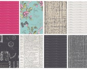 Art Gallery Cherie by Frances Newcombe- Fat Quarter Bundle of 8