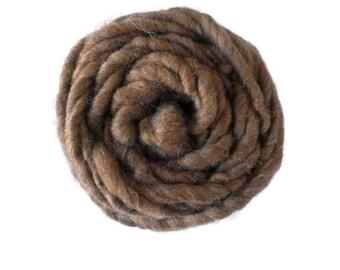 Shetland Moorit Super Chunky Handspun Yarn 100g