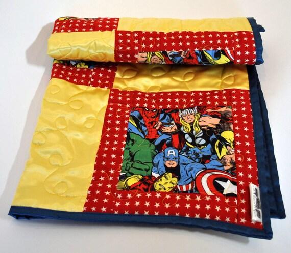 avengers quilt avengers nursery avengers baby shower avengers baby