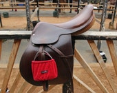 JG Small Solid Barn Colored Stirrup Covers