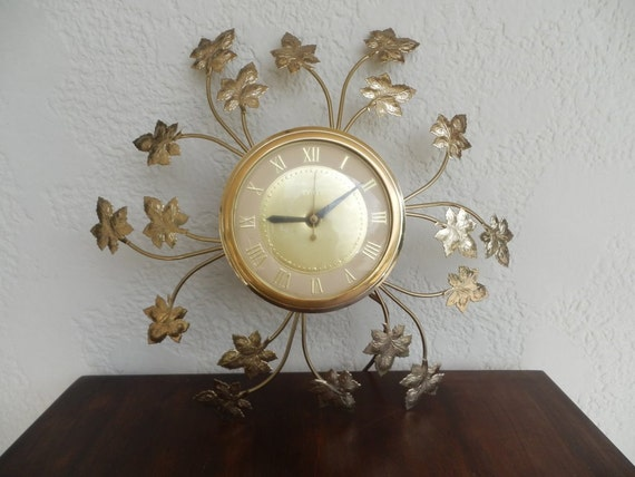 Items Similar To Vintage Mid Century Awesome Clock By