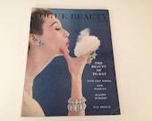 Vintage British Vogue Beauty Book magazine - no 10 1953