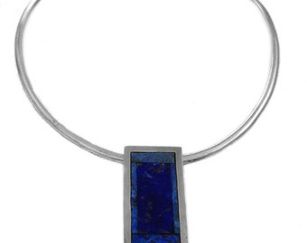 Lapis Lazuli Contrast Necklace