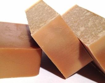 Green Tea & Honey Goat Milk Soap Unscented Botanical Soap