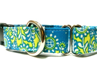 Dog Martingale Collar- Earth