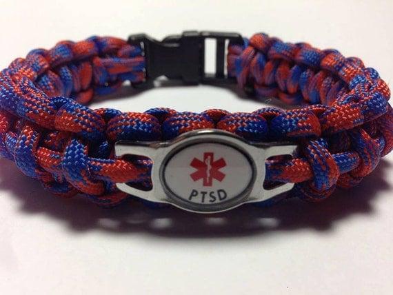 Medical Alert Bracelet >> Items similar to PTSD Medical Alert Bracelets on Etsy