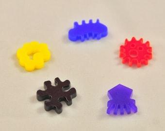 Pandemic board game virus tokens