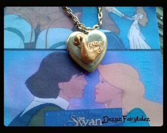 The Swan Princess Odette Swan Locket (Locket Only)