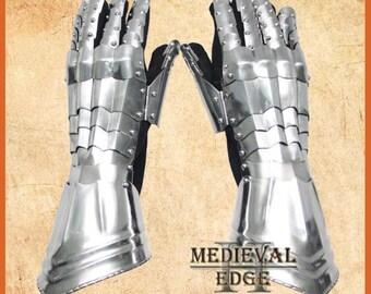 medieval knight gauntlets gothic antique gauntlet gloves replica