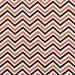 Springs Creative Chevron: Multi White/Orange/Black - Cotton Woven Fabric