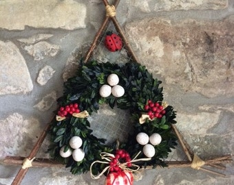 Christmas or Easter Decorative Wreath