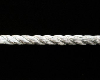 """310.3 Large Cord - bright silver 3/16"""" (5mm)"""