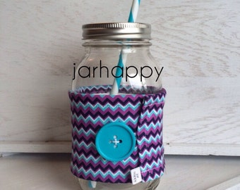 JESS Wrap for Mason Jar Drinking Glass Tumbler