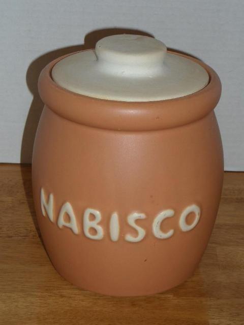 Vintage Mccoy Nabisco Cookie Jar 78