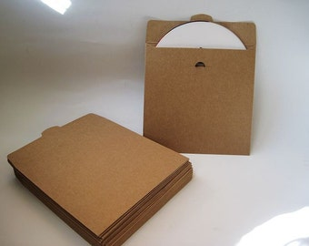20pcs - Kraft paper CD DVD Envelope Sleeve (Insert) *PS001*