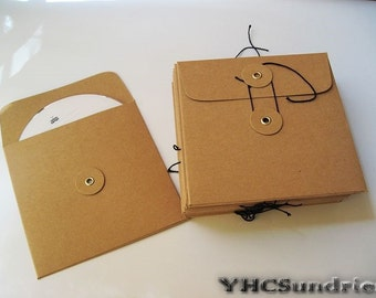 20pcs - Kraft paper CD DVD Envelope Sleeve (eye) *PS005*