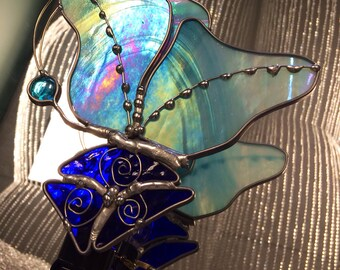 Stained Glass Nightlight - Butterfly