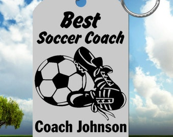 SOCCER Coach Gift, Personalized FREE with Names and Team, Custom Made