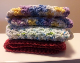 Dishcloths, washcloths 3 pack for 10 dollars