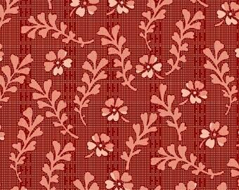 Romantic Renaissance - Pink Frond - 1/2yd