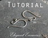 Tutorial: Elegant Earwires