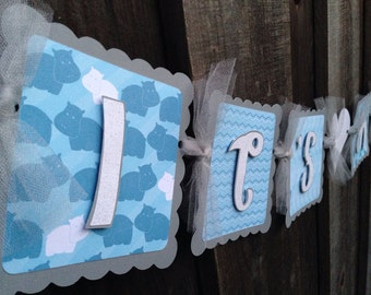 It's A Boy banner baby shower