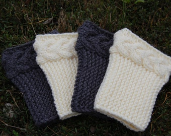 Knitting Pattern For Baby Wellies : Popular items for hand knit legwarmers on Etsy