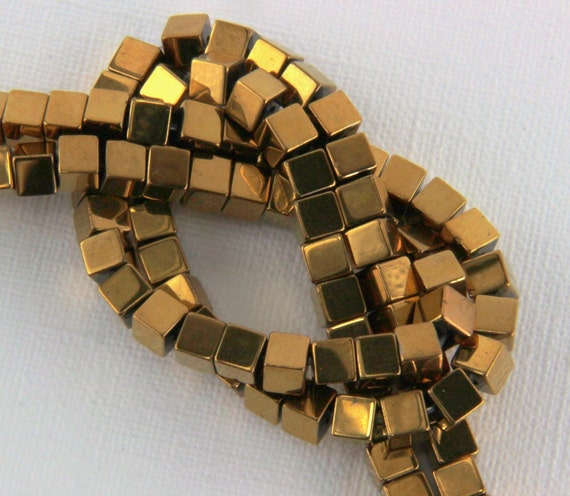 Hematite beads,... Gold Hematite Beads