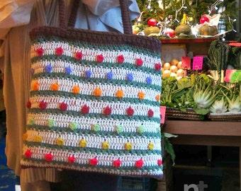 Sportina TuttiFrutti crochet tote bag pattern