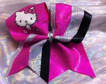 Cheer bow -Hello Kitty