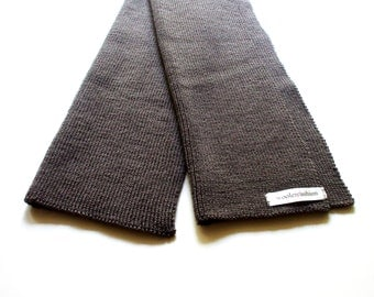 Babies/Children's Virgin wool scarf/blue/grey/pink
