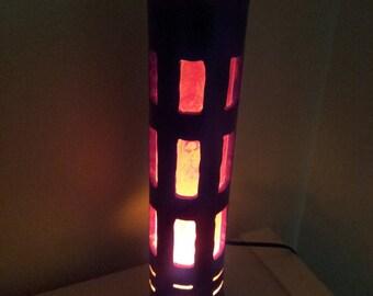 Large Bamboo Tube Electric Light-Hollywood Sunset