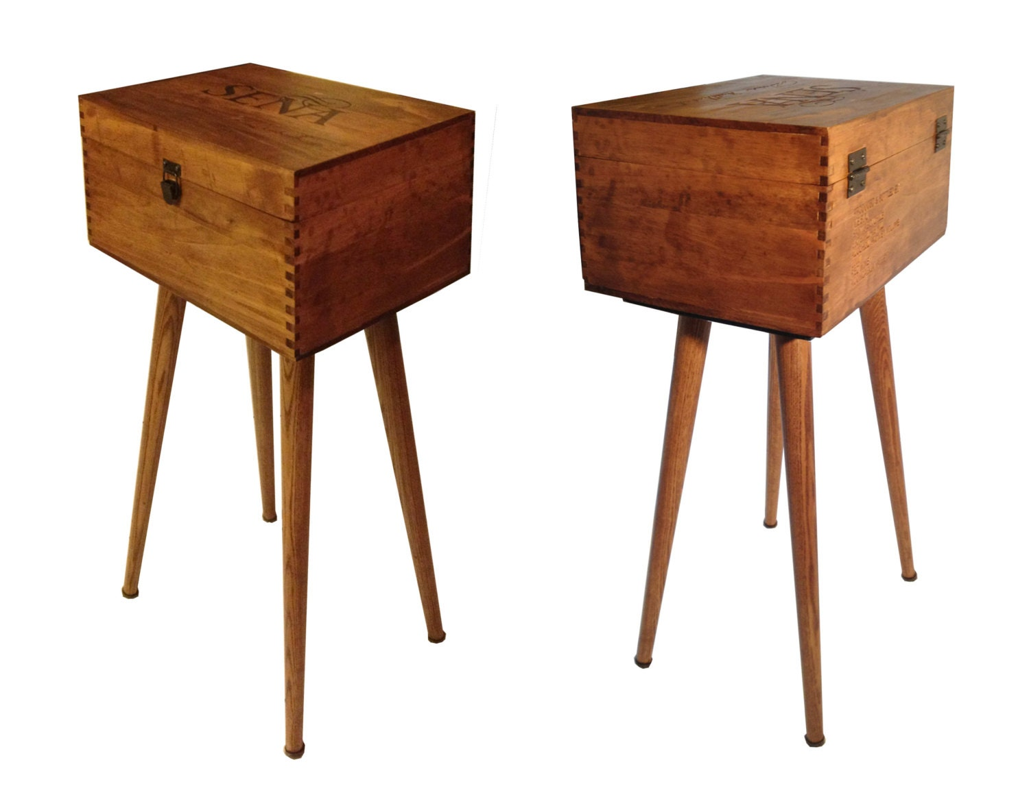 wine box end table night stand
