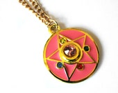 Sailor Moon Crystal Star Necklace - Crystal Star Necklace for Sailor Moon cosplay - anime jewelry for fandom geeks!