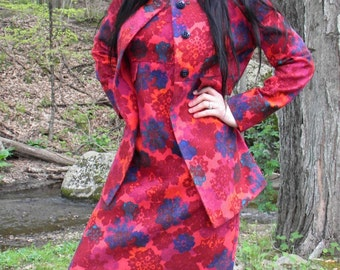 1960's Dress & Jacket by Florence Walsh of Hyde Park NY