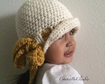 The Kit Cloche/ Made to Order/Sizes Toddler to Adult
