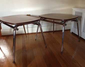 Retro Laminate and Chrome Tables, End Tables, Kid's Tables, Child's Desk, Furniture