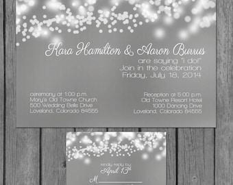 reception only | etsy, Wedding invitations