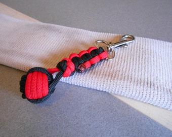 Monkey Fist Keychain - Monkey Fist Paracord Accessory - Firefighter Gift - Nautical Monkey Fist Keychain - Monkey Fist Nautical Knot