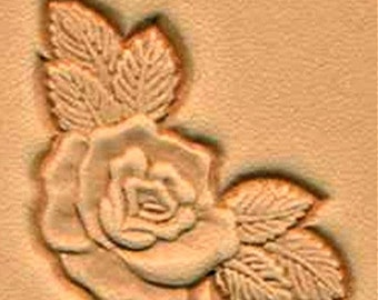 Rose Corner Leather Stamping Tool