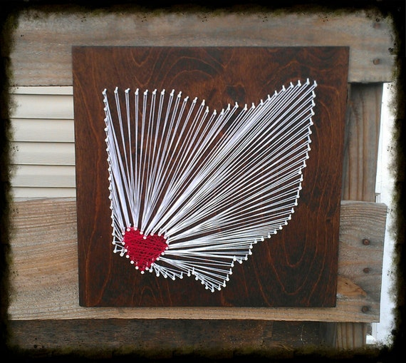 MADE TO ORDER Custom State String Art, Ohio String Art, String Art, State Decor