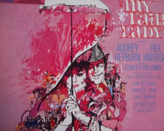 My Fair Lady- Motion Picture Soundtrack-vinyl record