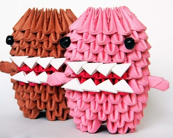 3D Origami Domo Couple