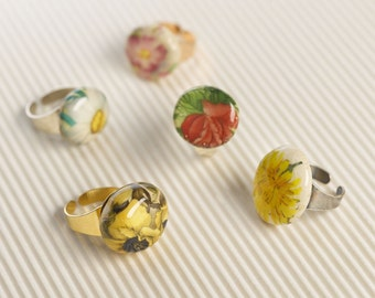 Handcrafted Floral Ring