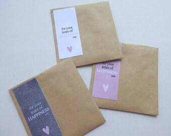 Wedding Favour Bags.Tissue Favour bags. Handerkerchief  Wedding Favours.